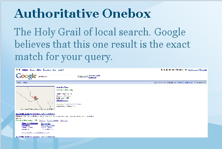 authoritative onebox