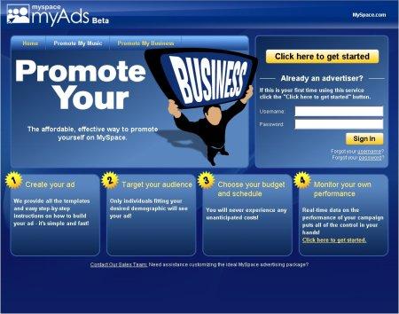 myspace myads